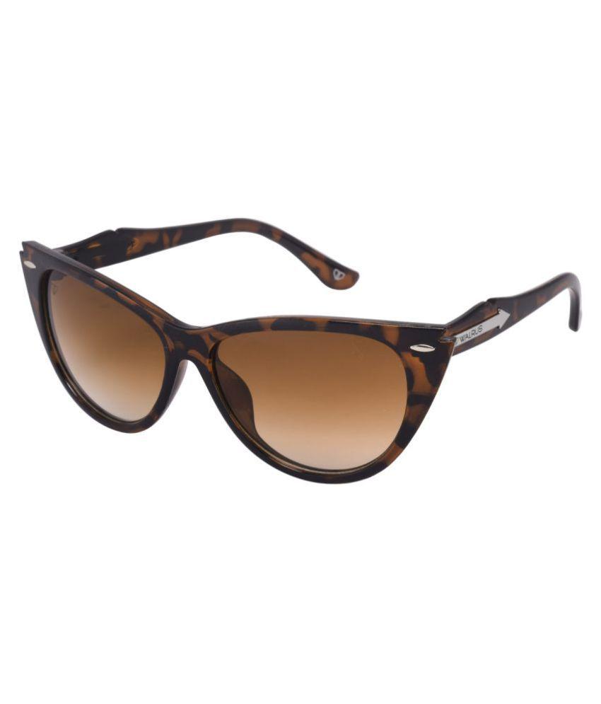 Walrus Brown Wayfarer Sunglasses ( WS-NINA-III-092626D )