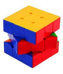 3x3x3 Speed Magic Cube Children Gift Game Kid Stickerless Rubiks Puzzle