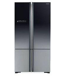 Hitachi 700 Ltr Inverter Compressor WB-800PNDS XGR French Door Refrigerator - Black