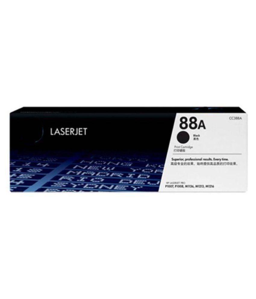 Laserjet 88A Black Toner Cartridge Single