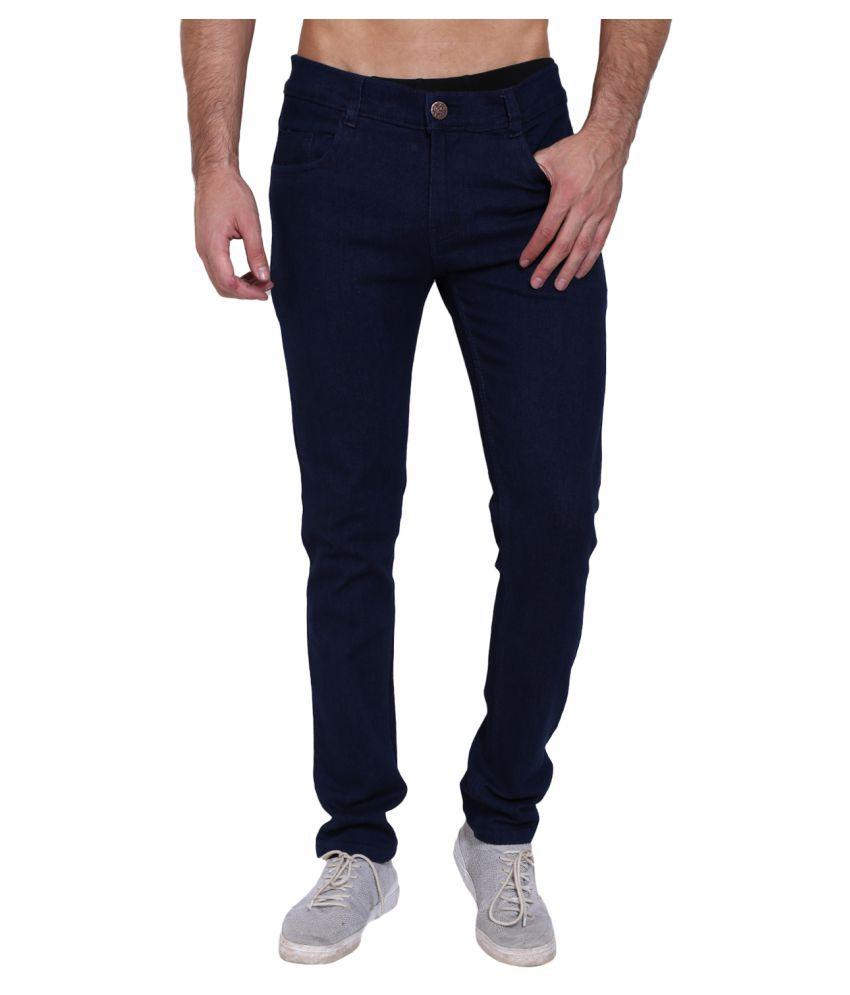 Landloper Dark Blue Slim Jeans