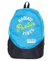 sara blue stylish school bag