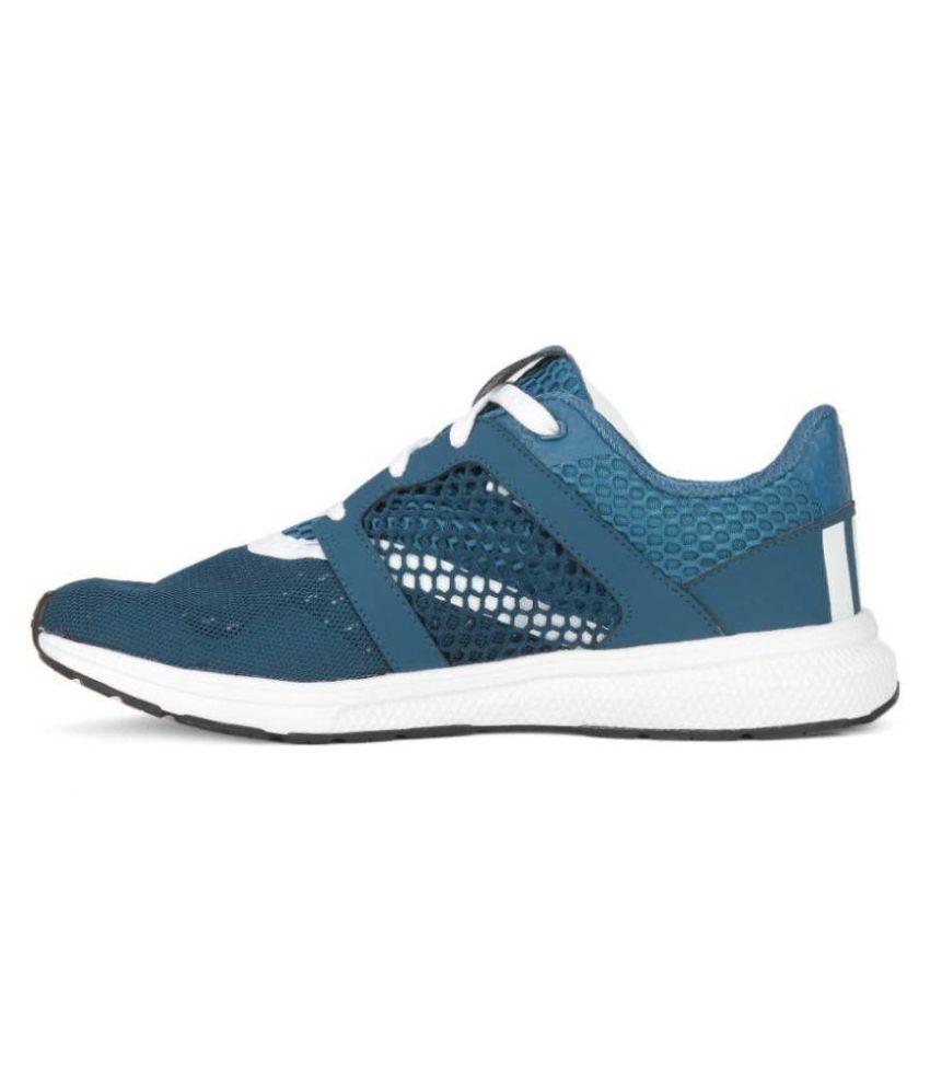 buy online d0254 9ebc5 ... Adidas Yamo 1.0 Bluenite White Cblu Multi Color Running Shoes ...