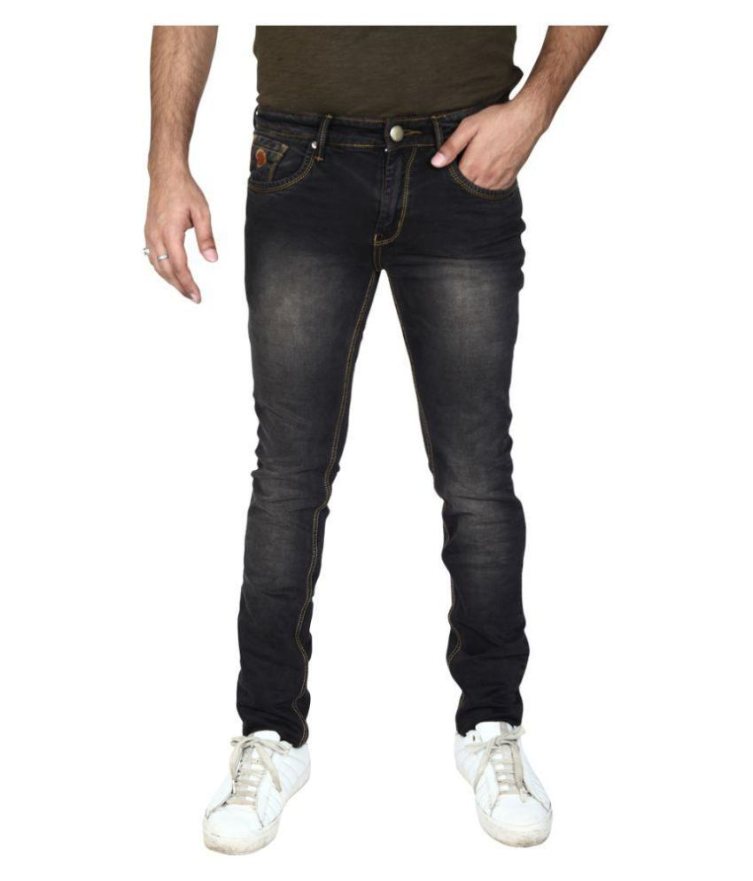 Hasasi Denim Brown Slim Jeans