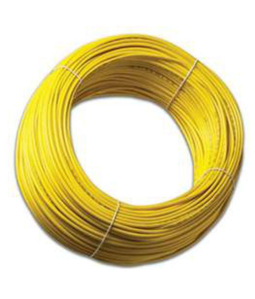 Buy Fybros By Kundan Cab House Wire 1 Core 1.5 Sqmm Online at Low ...