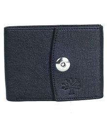 Woodland PU Black Casual Regular Wallet