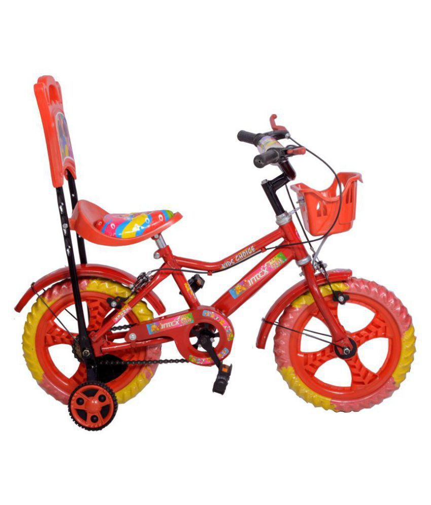 Intex Aqua Kids Cycles Red 35.56 cm(14) Comfort bike Kids Bicycle