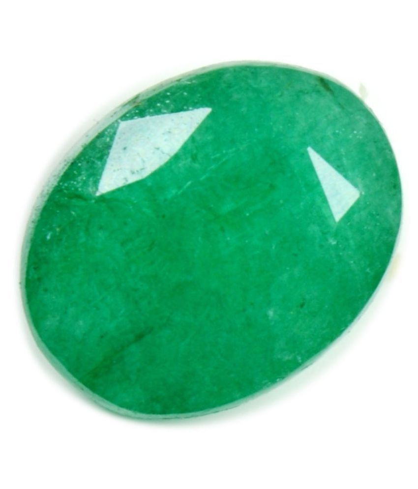 55Carat 4.25 -Ratti Self certified Green Emerald Precious Gemstone