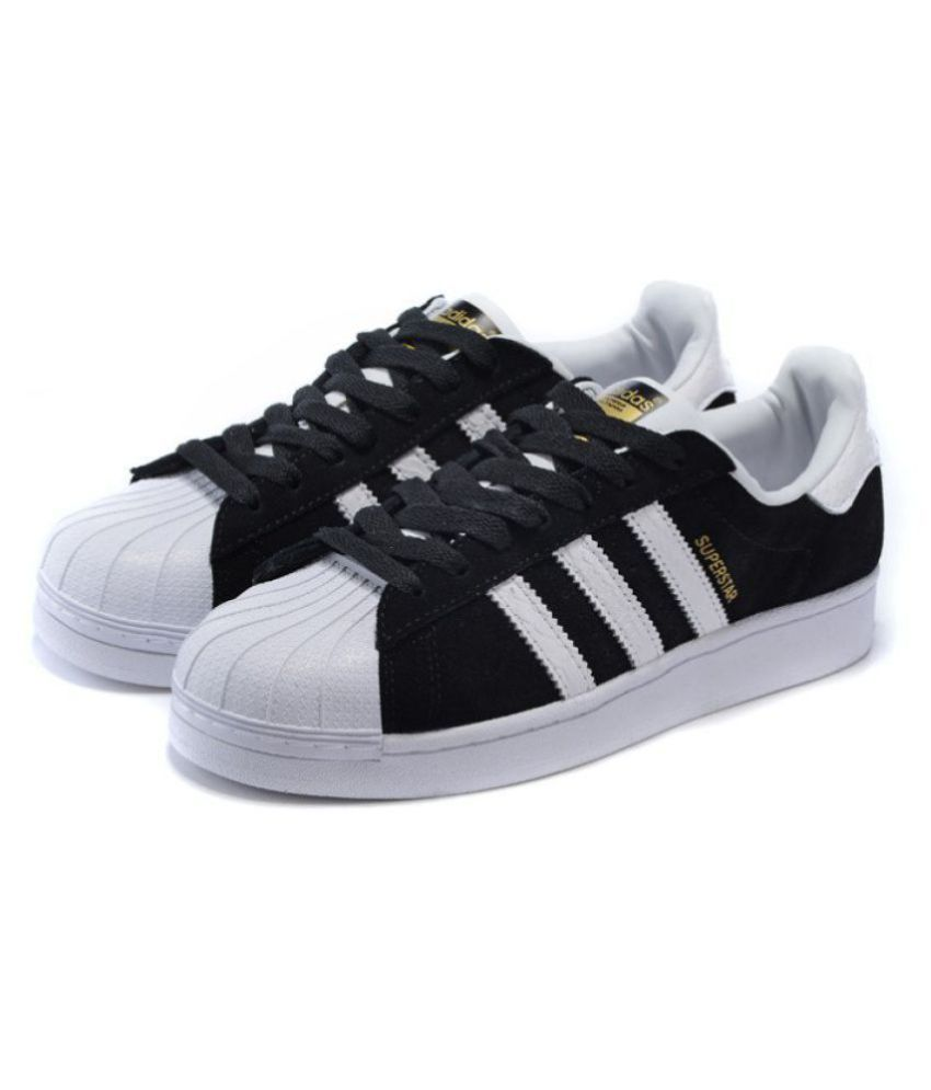 adidas superstar black price in india