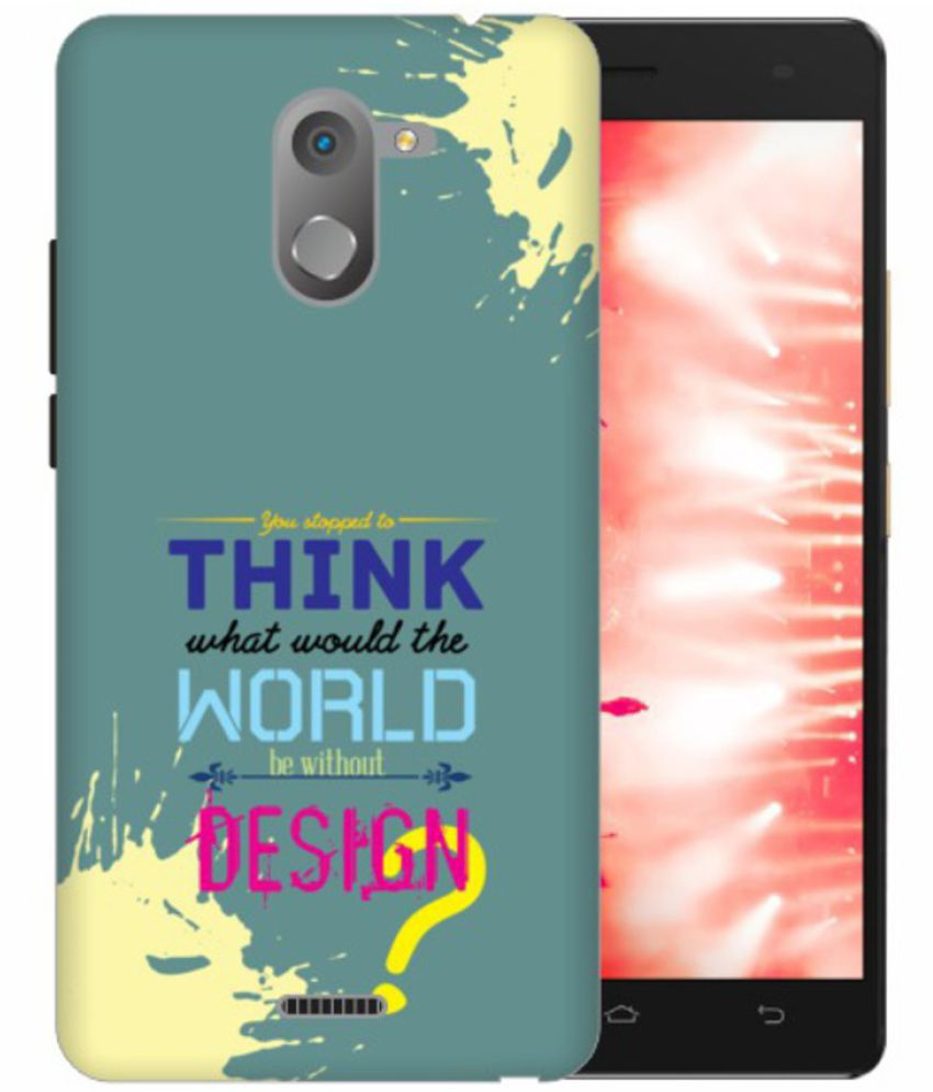 Infinix Hot 4 3D Back Covers By Printland