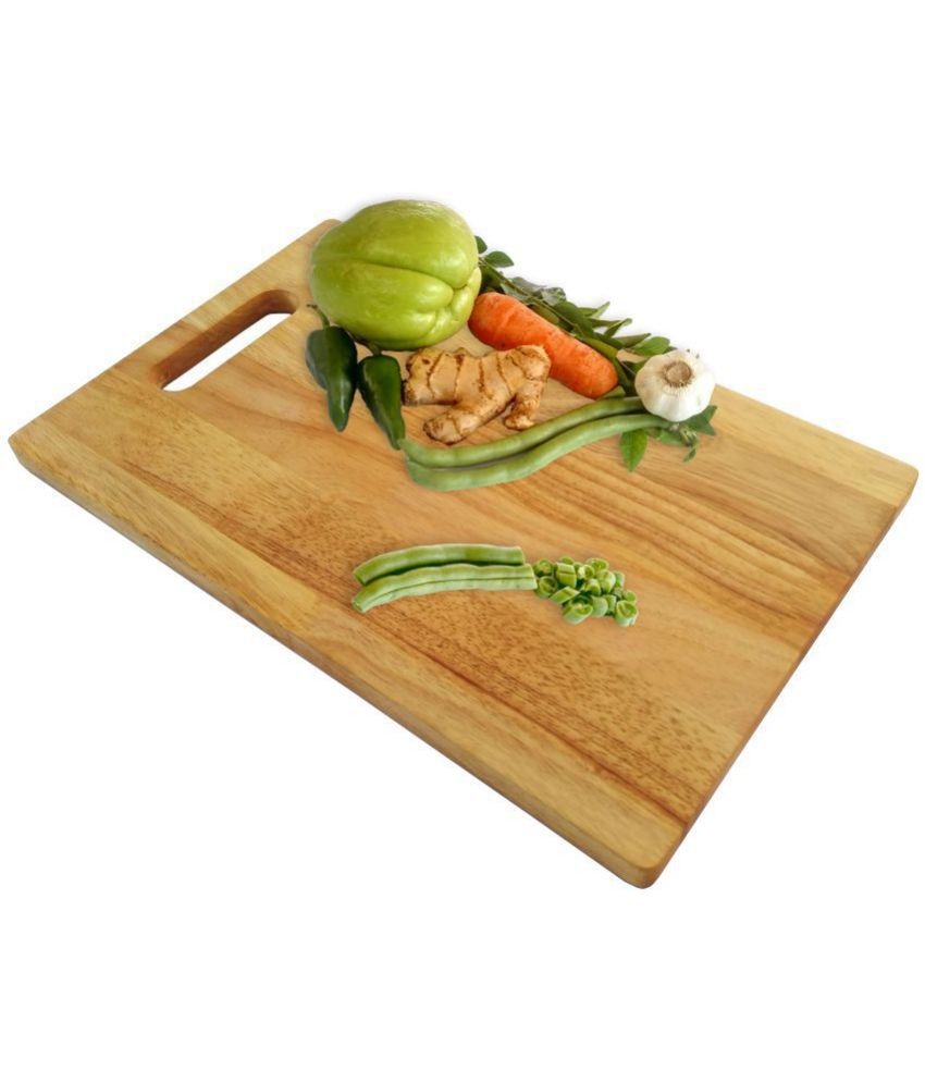 cf4358ba8c2 SVT Wooden Chopping Board 1 Pcs  Buy Online at Best Price in India -  Snapdeal