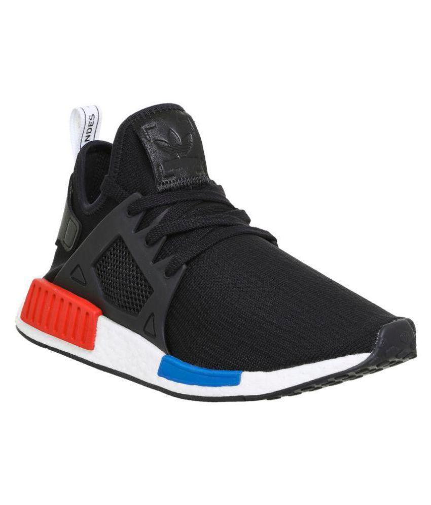 the latest e53b9 849fd Adidas N.M.D XR1 Black Running Shoes
