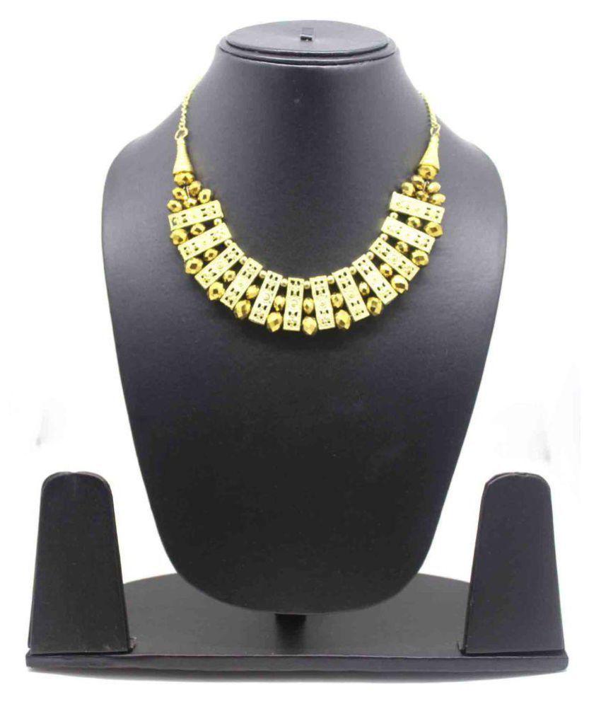 Fedexo Crystal, Alloy Necklace