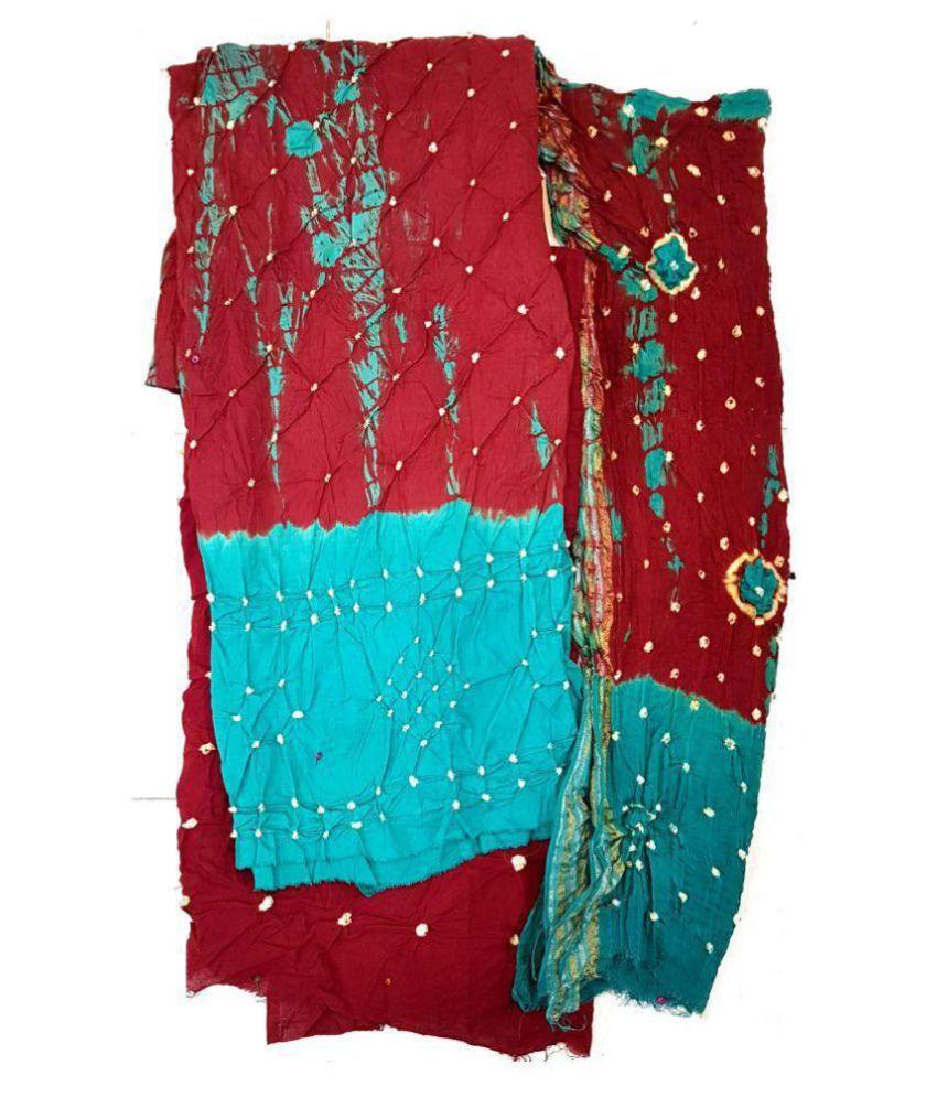 Efashion Multicoloured Cotton Dress Material
