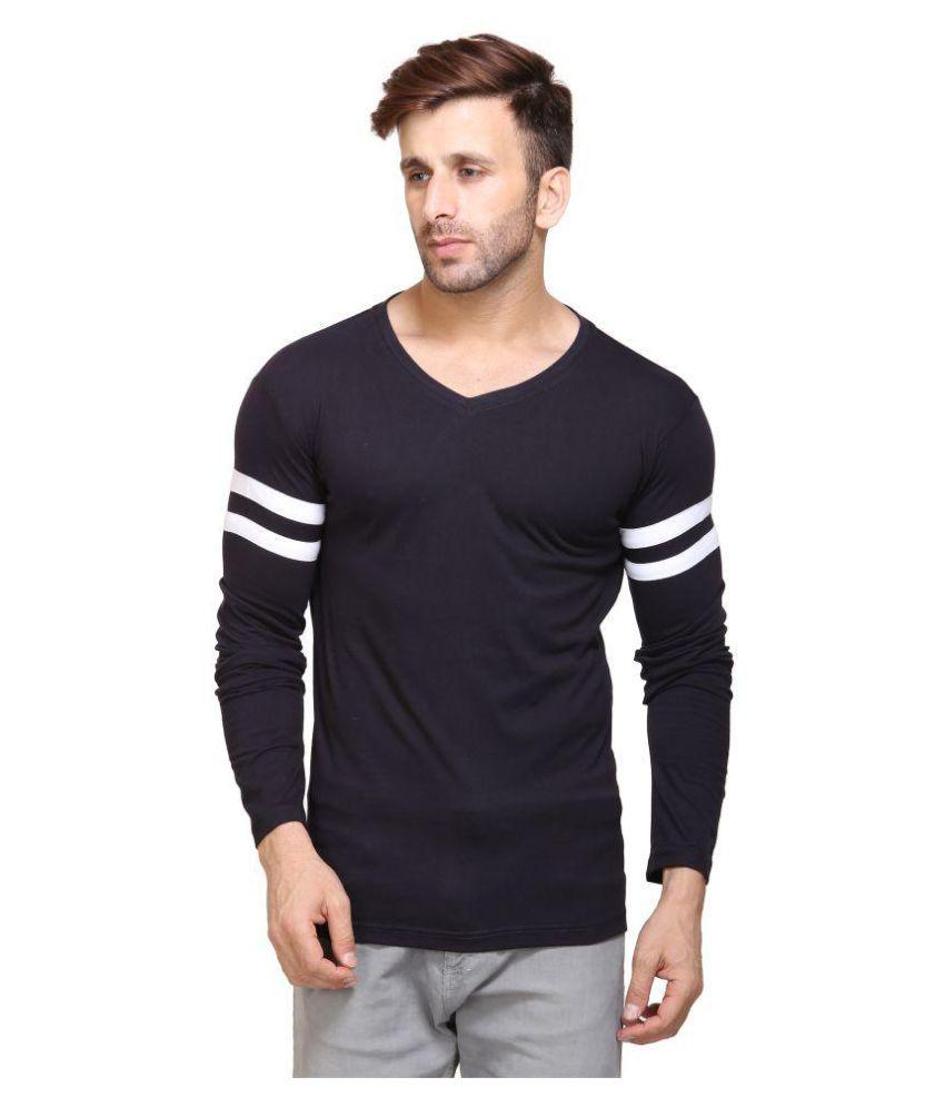 jsck Navy V-Neck T-Shirt Pack of 1