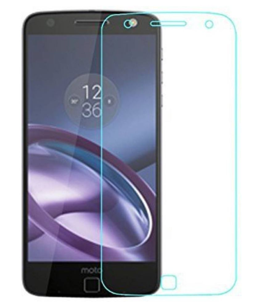 Moto Z Play Tempered Glass Screen Guard By Cell Tech
