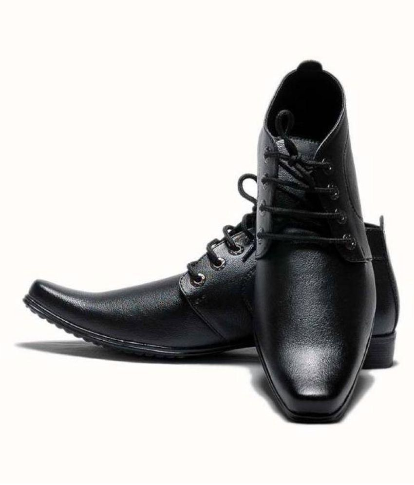 Advanced Black Formal Shoes visa payment sale online discount exclusive find great cheap online clearance wholesale price TFKzBk