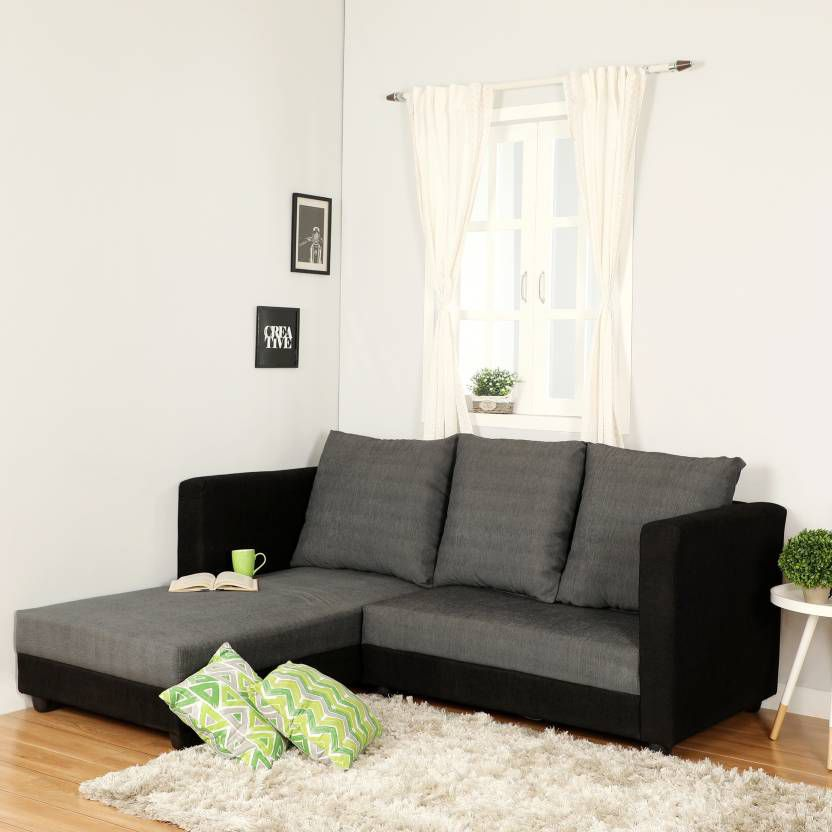Sectional Sofa India Online: Westido Nano 5 Seater Sectional Sofa