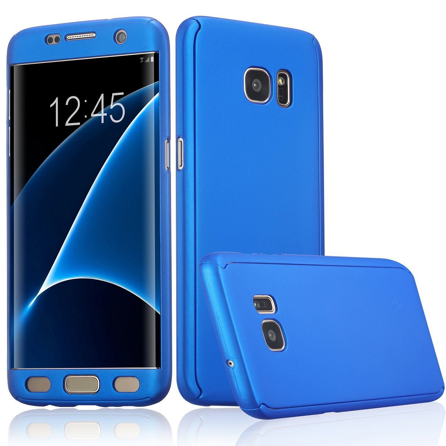 Samsung Galaxy S8 Plus Cases with Stands ClickAway - Blue