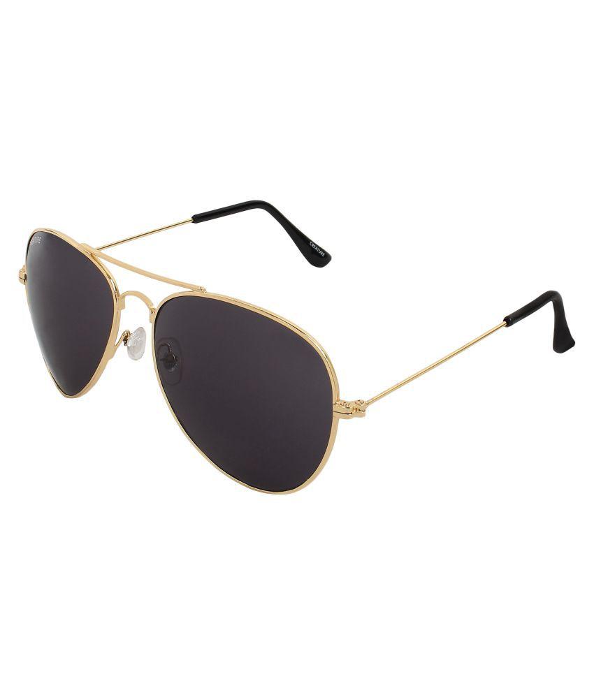 Creature Grey Aviator Sunglasses ( SUN-105 )