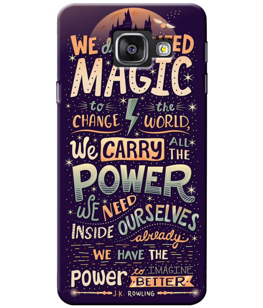 Samsung Galaxy A3 (2017) Printed Cover By Case King
