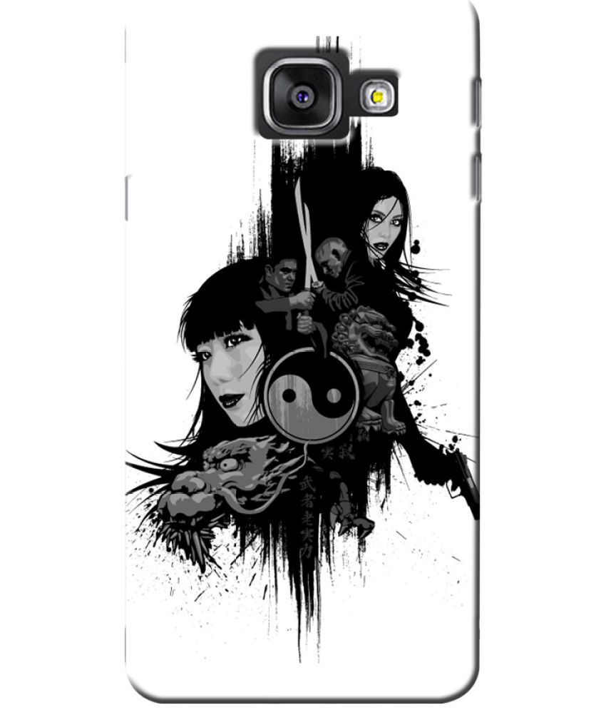 Samsung Galaxy A5 (2017) Printed Cover By Case King