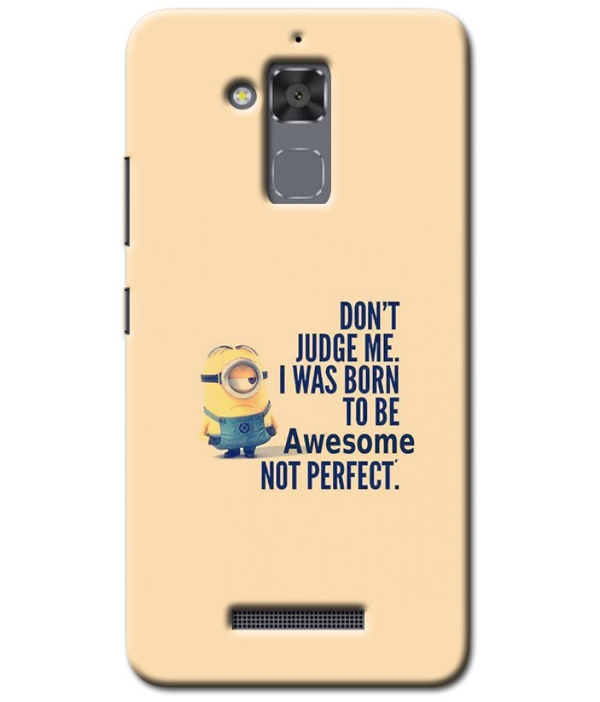 Asus ZenFone 3 Max ZC520TL Printed Cover By Case King