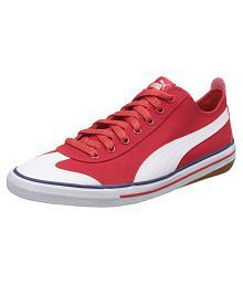 Puma Red Casual Shoes