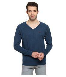 Duke Blue V Neck Sweater