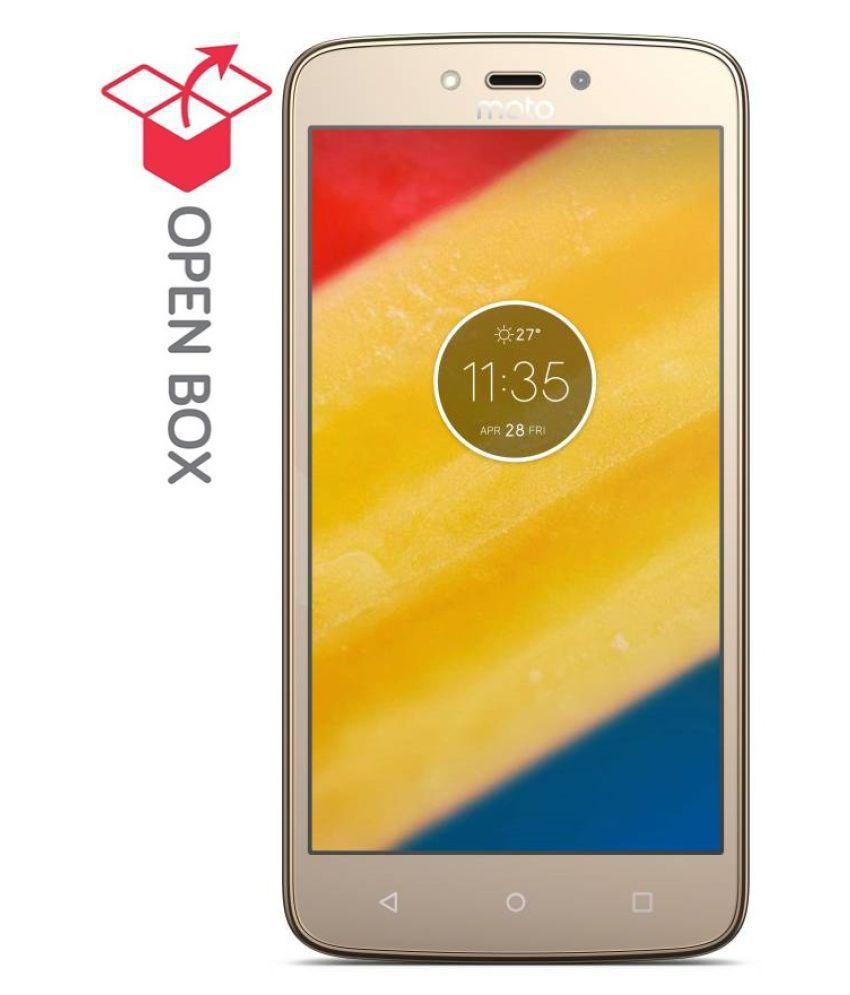 OPEN BOX Motorola C Plus 16GB Gold 2 GB 2 GB