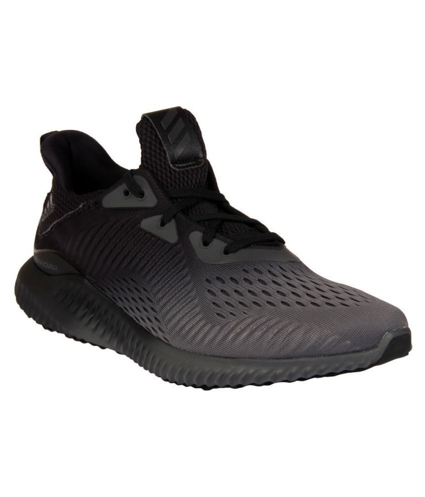 b76880cc68283 Adidas ALPHABOUNCE EM M Black Running Shoes - Buy Adidas ALPHABOUNCE EM M  Black Running Shoes Online at Best Prices in India on Snapdeal