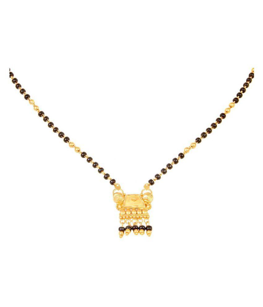 RS SWARN 22k Gold Mangalsutra