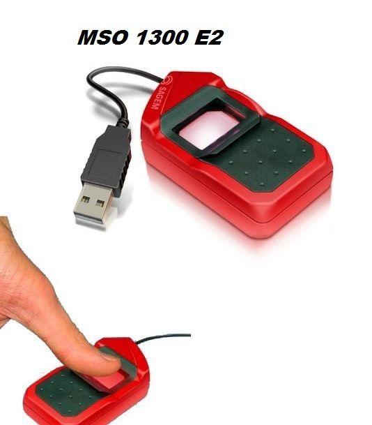 Morpho MSO 1300 E2 Bio Metric Finger Print Scanner for Aadhaar eKYC (E2  Version)