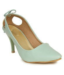 664fe2a254a Green Heels  Buy Green Heels for Women Online at Low Prices ...
