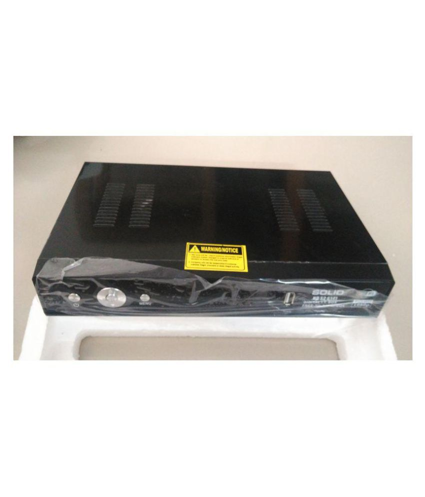 Buy Solid HD S2 6141 Free To Air MPEG 4 Full Set Top Box Streaming Media Player Online At Best Price In India