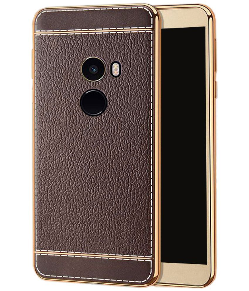 best loved 440b9 d039a Xiaomi Mi Mix 2 Soft Silicon Cases Excelsior - Brown