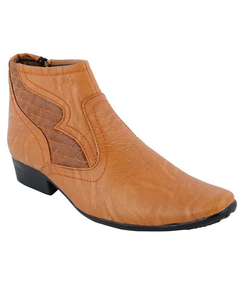 Cyro Tan Casual Boot