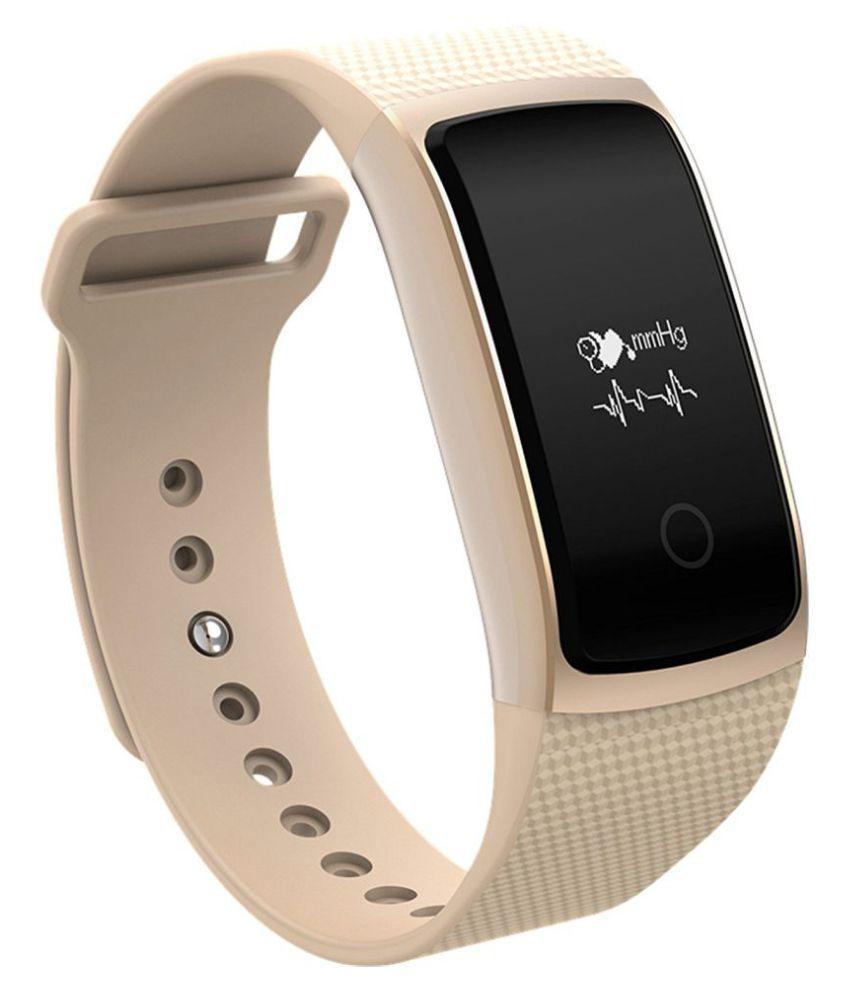 OPTA SB-020 Cream Bluetooth Smart Band Fitness Health Sport Bracelet (Cream)