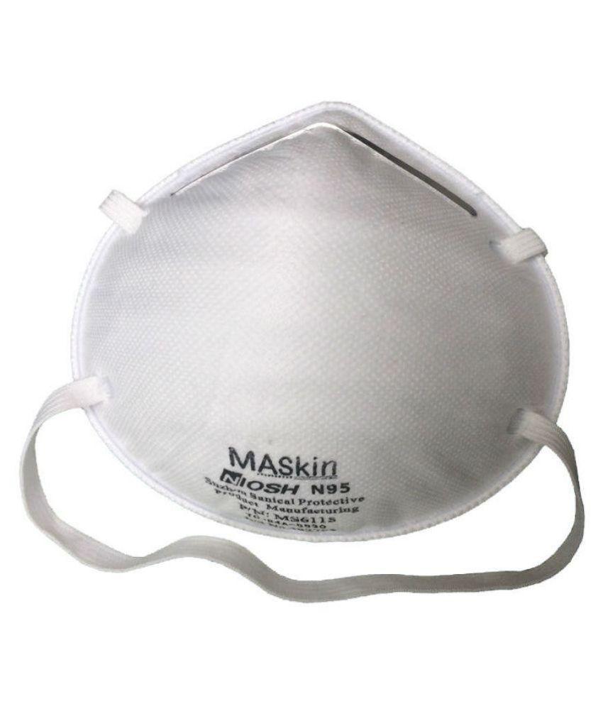 Mask N95 1pc Cup Maskin Particulate Respirator