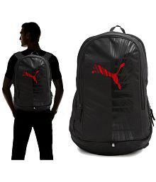 Puma 25 Litres Red Graphic Backpack