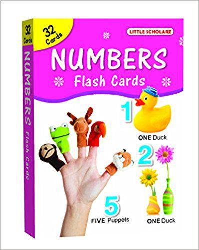 Big Flash Cards Numbers