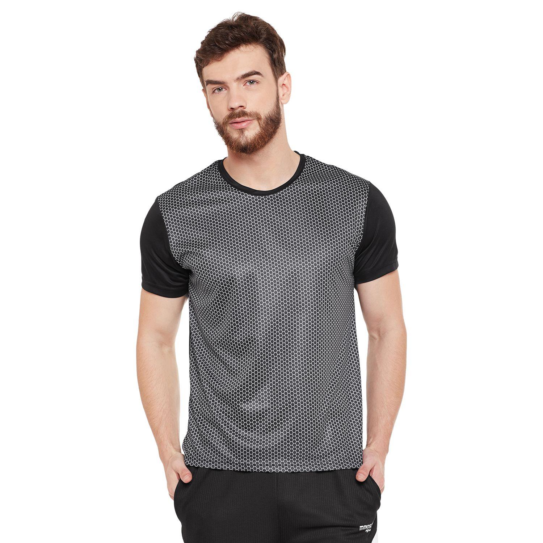 Masch Sports Black Round T-Shirt Pack of 1