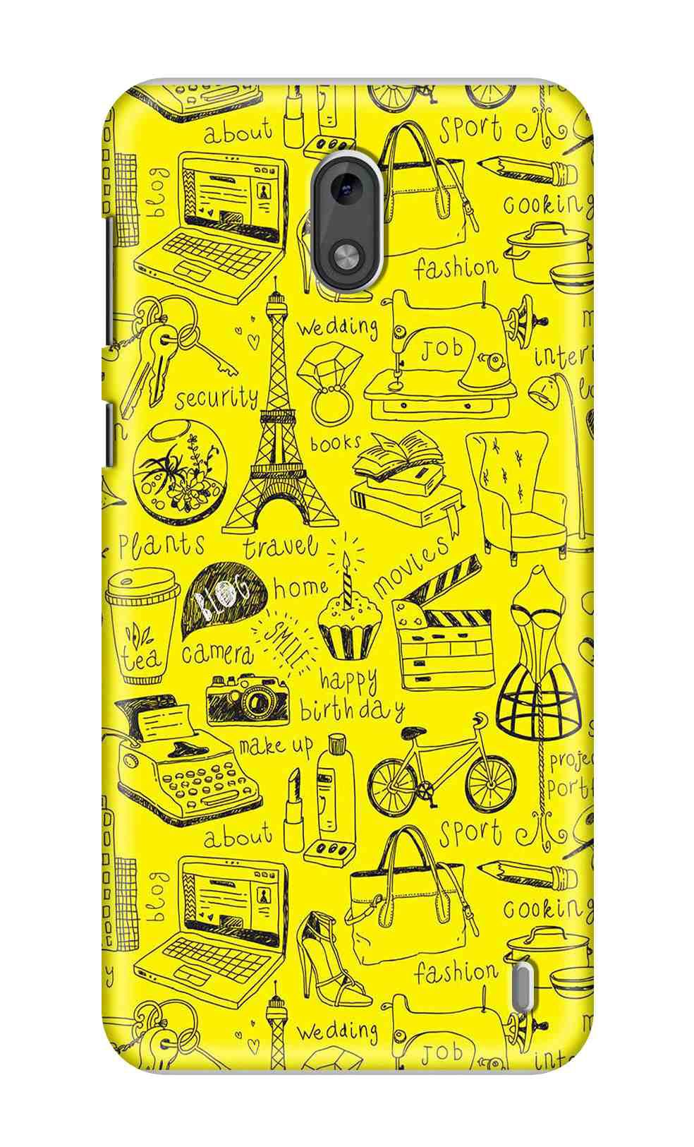 info for 885ff 851fe Nokia 2 Printed Cover By LOL