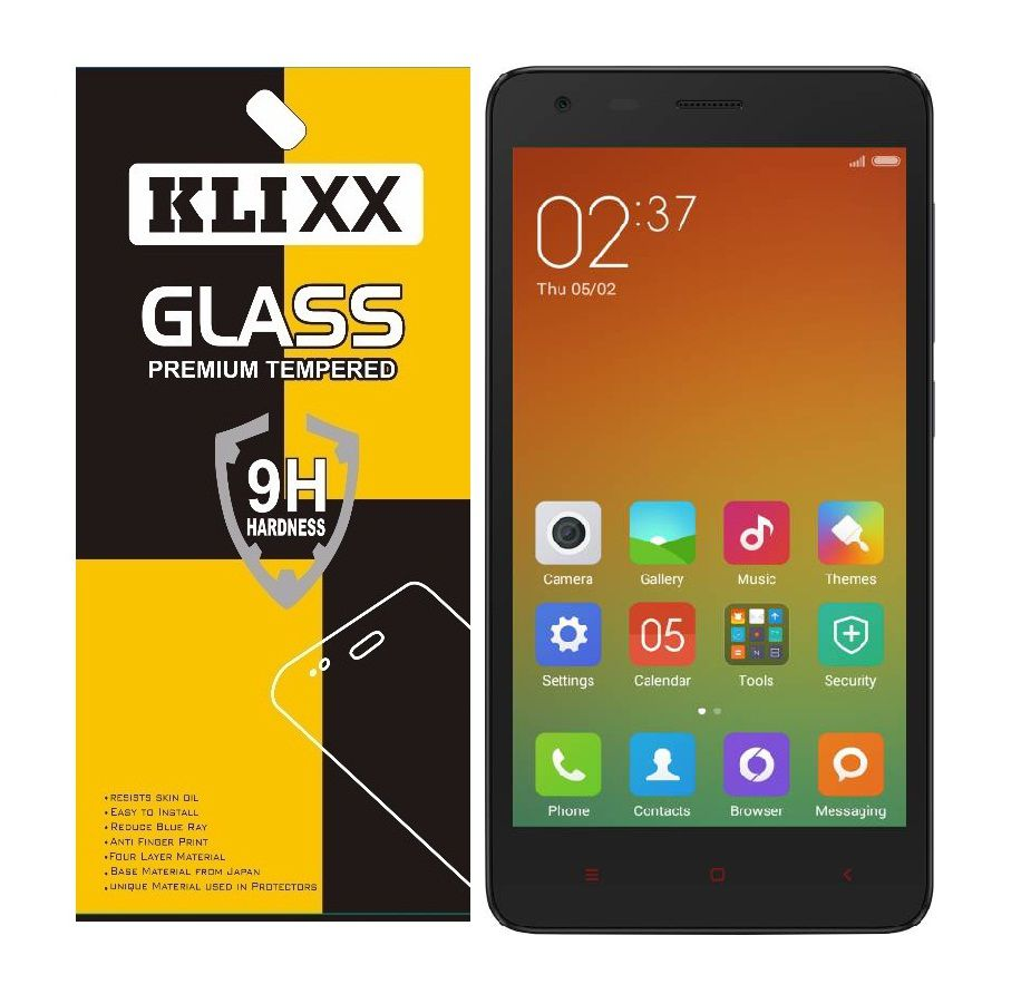 Xiaomi Redmi 2 Prime Tempered Glass Screen Guard By Klixx Mobile