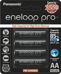 Panasonic Eneloop Pro BK-3HCCE/4BN 4 x AA 2550mAh Ni-MH