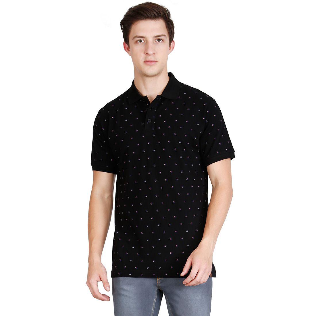 JDC Black Round T-Shirt Pack of 1