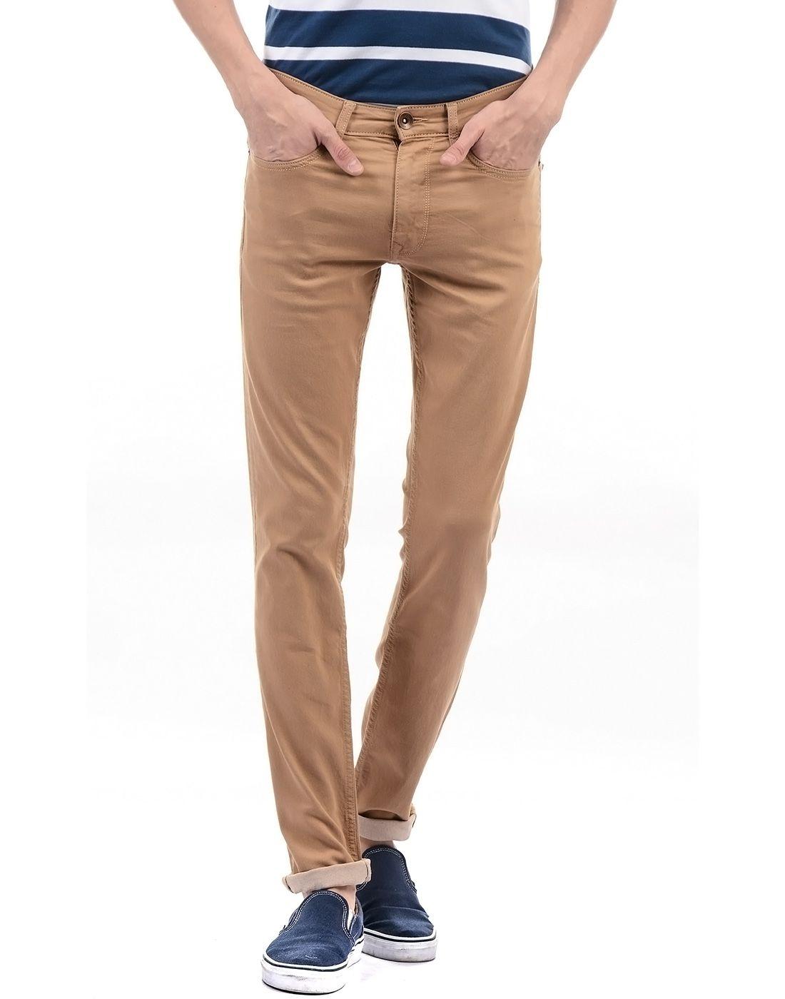 Pepe Jeans Brown Slim Jeans