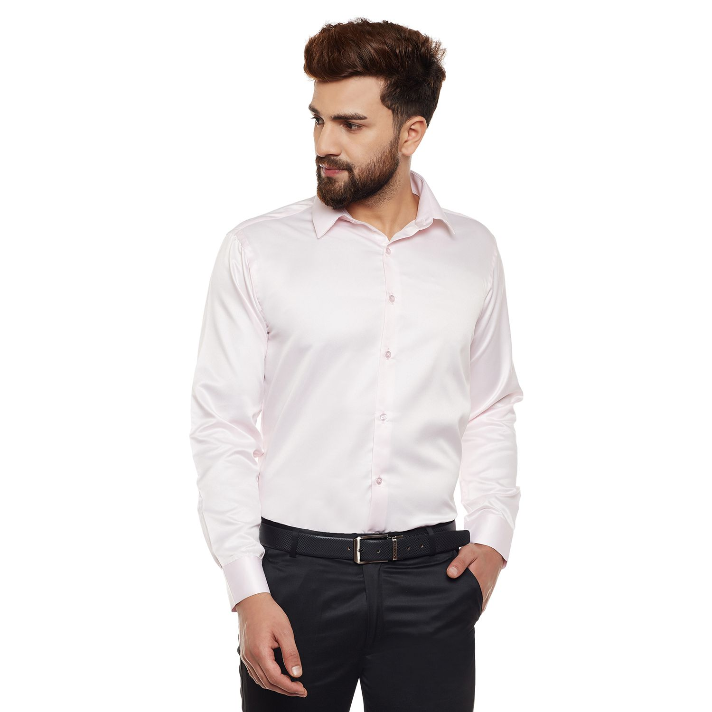 Hancock Pink Slim Fit Shirt
