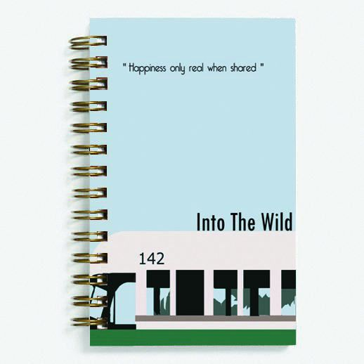 Into the Wild - Spiral Diary (paperback)153 sheets 70 GSM Matte Art Paper Amazing to giftfor all occasionsby Unique Indian Crafts