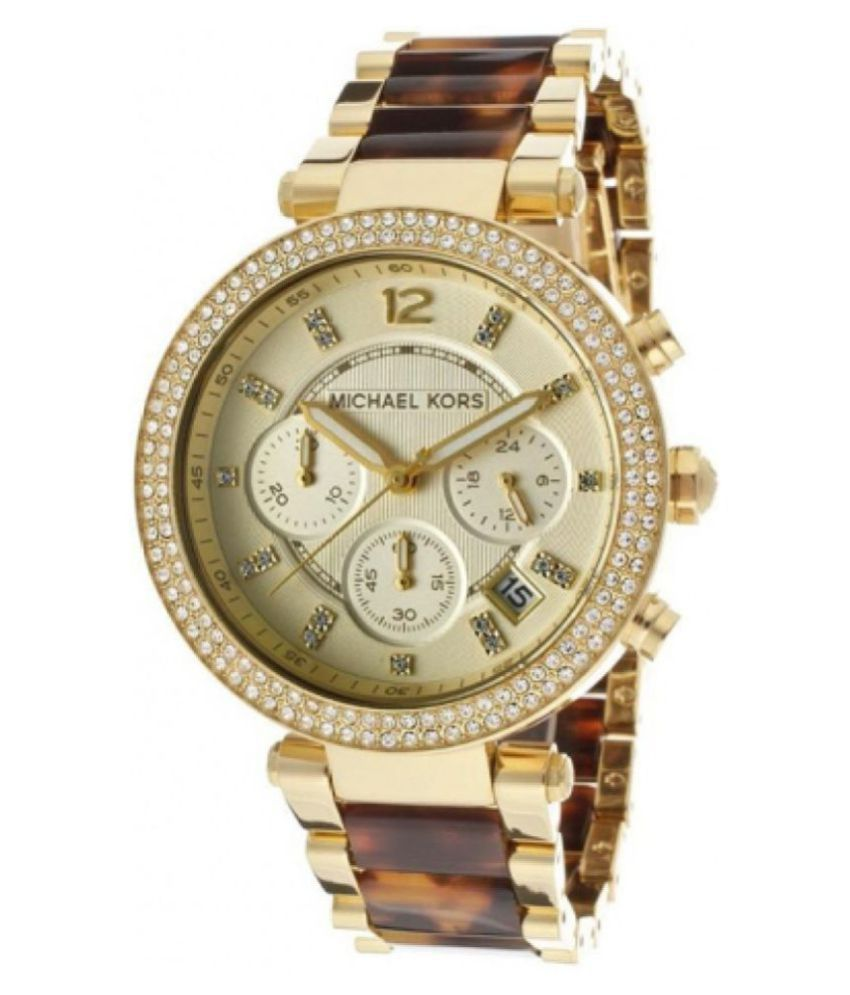 a1bb0bc0e87884 Noctem MK5688 Gold color Women watch Price in India: Buy Noctem MK5688 Gold  color Women watch Online at Snapdeal